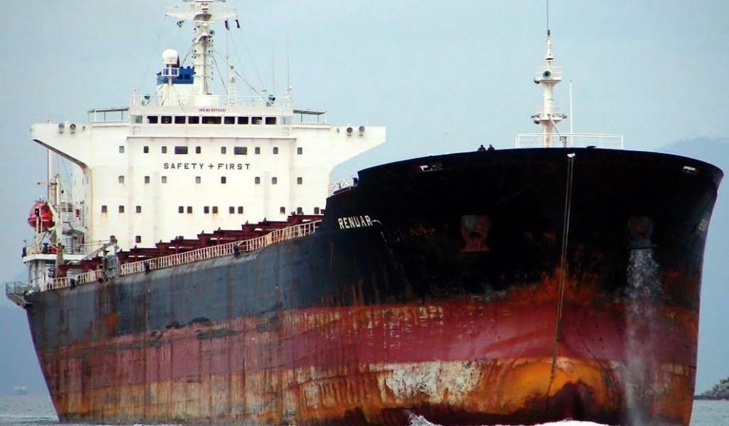 Cargo ship MV renuar