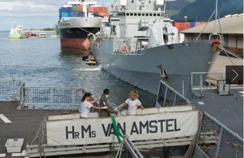 Eleven Pirates Captured By EU Naval Force Dutch Warship Are Convicted In The Seychelles