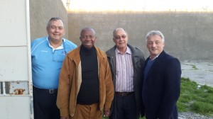Former Robben Island inmate 'Sparks'