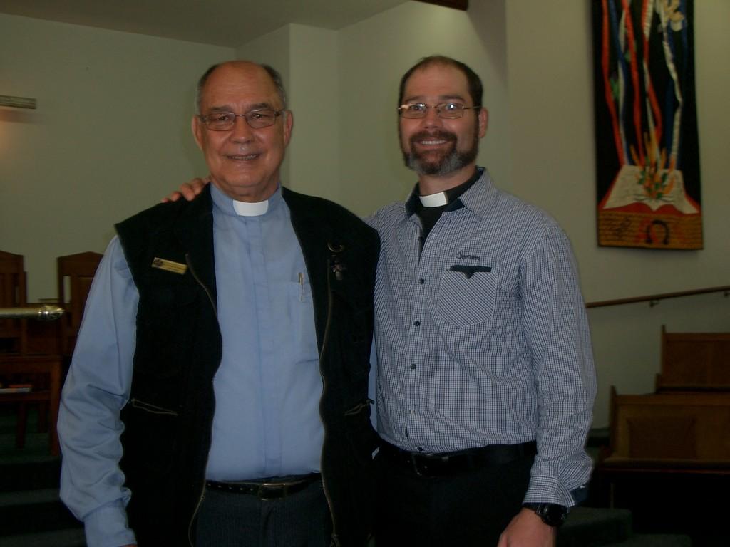 Father and Son - Revs Boet and Steve van Schalkwyk.